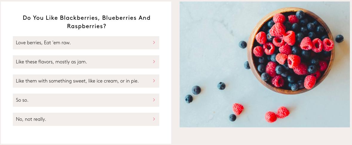 Q5.ブラックベリー、ブルーベリー、ラズベリーは好きですか?