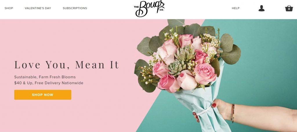 花束のサブスクリプションサービス
