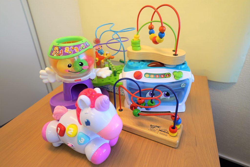 サブスクリプションで発送される知育玩具