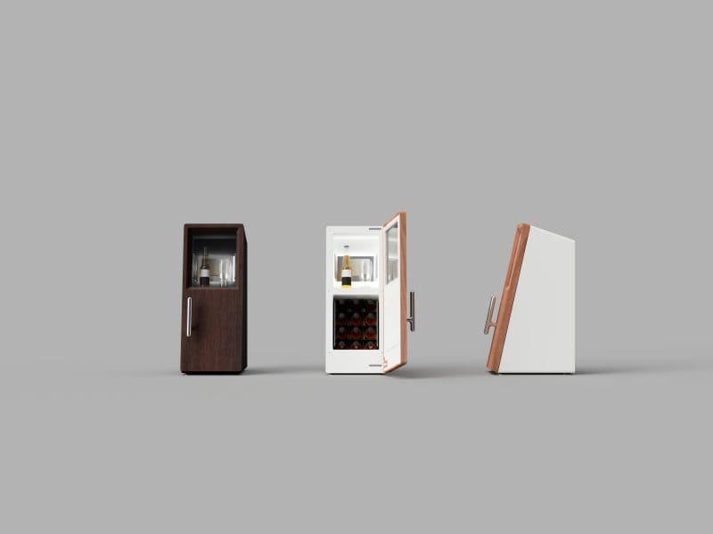デザインにもこだわったサブスク型冷蔵庫