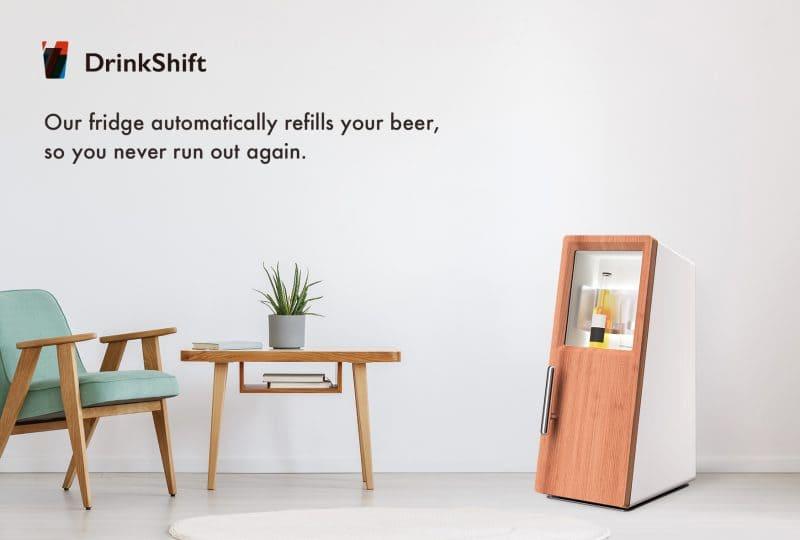 サブスク型冷蔵庫DrinkShift
