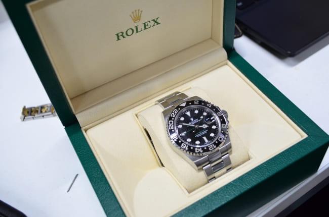 『バイセルハント』でレンタルされるロレックスの腕時計