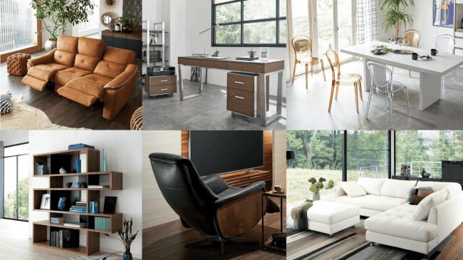 flectではディノスの扱う新品家具1000点から家具をレンタルできる