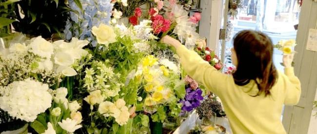 全国の花屋をネットワークしている