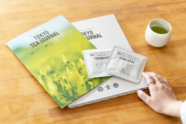 お茶のサブスクリプションTOKYO TEA JOURNAL